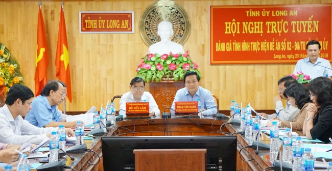 6. Implementing Scheme No. 02-DA/TU on streamlining the government apparatus and enhancing the operational efficiency of the provincial political system in line with Decision No. 18, 19-NQ/TW by the 12th Central Party Committee.