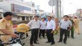 TP.Tân An quyết tâm kéo giảm tai nạn giao thông