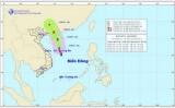 Bão số 1 đang ở phía Bắc đảo Hoàng Sa, gió giật cấp 11