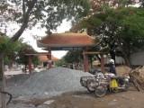 Cần Giuộc: Đẩy nhanh tiến độ thi công các công trình chào mừng Đại hội Đảng bộ huyện