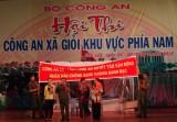 Hội thi Công an xã giỏi khu vực phía nam: Long An đoạt giải III