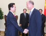 Thủ tướng Nguyễn Tấn Dũng tiếp Tổng Giám đốc Tập đoàn Airbus