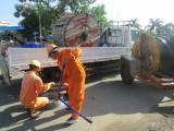 Công ty Điện lực Long An: Tổ chức diễn tập phòng, chống lụt bão
