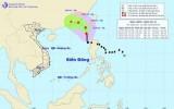 Bão số 2 đổi hướng vào vùng Đông Nam tỉnh Quảng Đông (Trung Quốc)