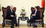 Thủ tướng tiếp Đại sứ EU và Đại sứ Hungary