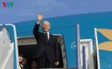 Tổng Bí thư kết thúc tốt đẹp chuyến thăm chính thức Hoa Kỳ