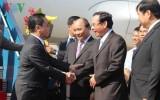 Thủ tướng Lào Thongsing Thammavong thăm thành phố Đà Nẵng