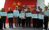 27 cựu thanh niên xung phong được trao nhà Nghĩa tình đồng đội