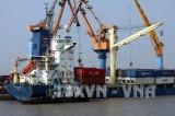 Cáp tàu đứt văng chết hai người tại Cảng Hải Phòng