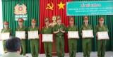Bế giảng lớp huấn luyện công dân phục vụ có thời hạn trong Công an tỉnh