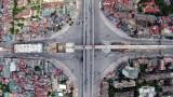 Hình ảnh nút giao thông 4 tầng đầu tiên ở Việt Nam