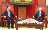 Tổng Bí thư Nguyễn Phú Trọng tiếp đoàn Đảng Cộng sản Trung Quốc
