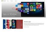 Kho ứng dụng Windows chung cho PC, tablet và điện thoại
