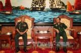 Thượng tướng Đỗ Bá Tỵ tiếp Cục trưởng Cục Tác chiến Campuchia