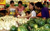 Giá tiêu dùng tháng 7 chỉ tăng 0,13%