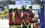 Giải bóng chuyền nữ quốc tế VTV Cup 2015: Việt Nam thắng trận đầu
