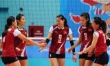 Tuyển bóng chuyền Việt Nam thắng dễ đội Nam Kinh (Trung Quốc)