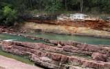 Hai thiếu nữ bị nước cuốn khi tham quan hồ Dầu Tiếng
