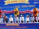 Khởi công dự án nhà ở xã hội lớn nhất Đồng bằng sông Cửu Long