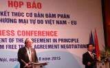 Hiệp định thương mại tự do Việt Nam EU: Xóa bỏ 99% dòng thuế nhập khẩu