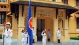 Lễ Thượng cờ nhân kỷ niệm 48 năm thành lập ASEAN
