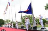 Thượng cờ ASEAN tại TP.HCM