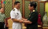 Bộ trưởng Phùng Quang Thanh tiếp đoàn Bộ Quốc phòng Trung Quốc