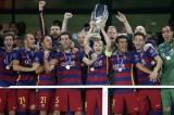 Messi lập hai siêu phẩm, Barca nghẹt thở giành Siêu cúp châu Âu