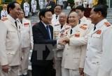 Chủ tịch nước tiếp các thế hệ tướng lĩnh Công an nhân dân