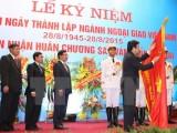 Ngành ngoại giao đón nhận Huân chương Sao Vàng lần thứ hai