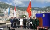 Lễ thượng cờ Việt Nam tại tổ chức Thủy đạc quốc tế