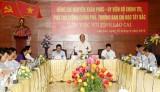 Phó Thủ tướng Nguyễn Xuân Phúc làm việc với tỉnh Lào Cai