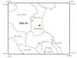 Động đất 3,6 độ richter ở Nghệ An