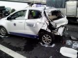 Đã có 2 người chết trong vụ tai nạn liên hoàn trên đường cao tốc