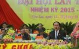 Đại tướng Trần Đại Quang dự Đại hội đại biểu Đảng bộ tỉnh Gia Lai