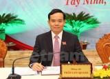 Ông Trần Lưu Quang được bầu lại làm Bí thư Tỉnh ủy Tây Ninh