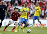 Thụy Điển quyết đấu Đan Mạch cho một tấm vé dự Euro 2016