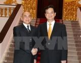Quốc vương Campuchia Norodom Sihamoni sắp sang thăm Việt Nam