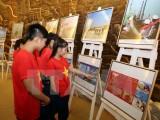"""TTXVN và Vietsovpetro tổ chức triển lãm ảnh """"Biển đảo Tổ quốc"""""""