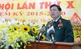 Đại tướng Ngô Xuân Lịch dự và chỉ đạo Đại hội Đảng bộ Tiền Giang