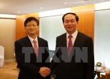 Bộ trưởng Công an hội đàm với các quan chức an ninh Trung Quốc