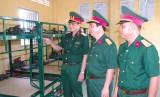 Quân khu 7 kiểm tra huấn luyện tại Tiểu đoàn 1, Trung đoàn 738