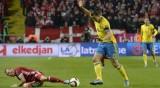 Thụy Điển, Ukraine thắng trong trận lượt đi play-off Euro 2016