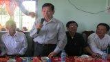 Nguyên Chủ tịch nước Nguyễn Minh Triết trao nhà nghĩa tình đồng đội