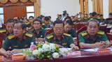 Quân khu 7 họp báo tuyên truyền 70 năm Ngày truyền thống Quân khu