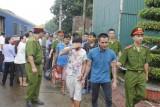Áp giải 6 nghi phạm bị truy nã từ miền Nam ra Thanh Hóa