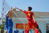 Khai mạc giải bóng chuyền kỷ niệm 70 năm thành lập Quân khu 7