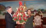 Lãnh đạo Đảng, Nhà nước ta chúc mừng Quốc khánh Lào