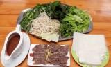 Bắp bò hấp chấm mắm nêm - món ăn tuyệt vời cho người giảm cân