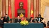 Tuyên bố chung Việt Nam- Belarus: Củng cố và phát triển toàn diện quan hệ hai nước